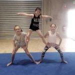Children's acrobatics themed birthday party near Footscray